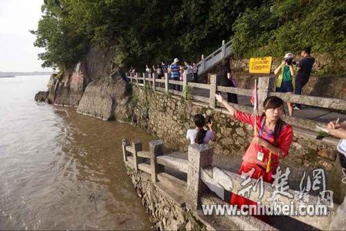 [2015湖北网络行]三国赤壁古战场冲刺全国5A景区