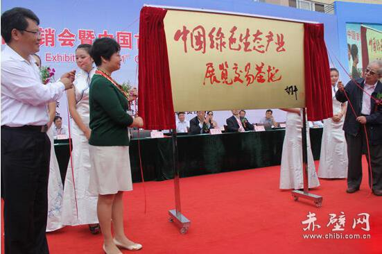 全力打造中国绿色生态产业展览交易基地